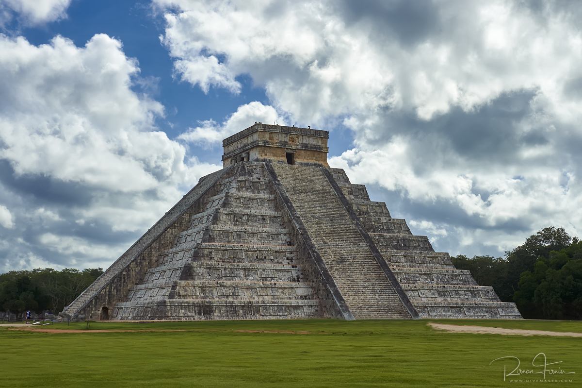 МЕКСИКА: ХРАМОВЫЕ КОМПЛЕКСЫ ЮКАТАНА